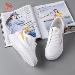 RD台湾红蜻蜓2019年春季时尚爆款小白鞋W191005