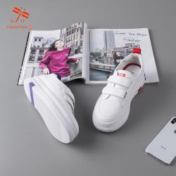RD台湾红蜻蜓2019年春季新款时尚爆款真皮小白鞋w191002