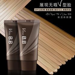 韩国品牌VOV bb霜遮瑕隔离隐形毛孔保湿修颜男女可用