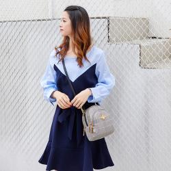 2019新款女包时尚潮流小圆包小包帆布小蜜蜂女包斜挎包手提单肩包  GT023