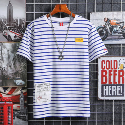 昊社 2019年夏季新款 休闲舒适男短袖T恤 1901