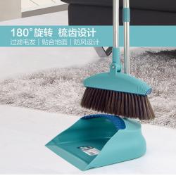 """可立美 """"去毛发""""畚斗扫把 M5005"""