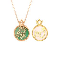 浙豪珠宝 贝壳项链QS700+QS1162