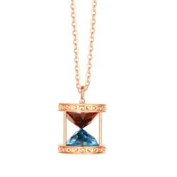 浙豪珠宝 石榴石项链 SKAC495