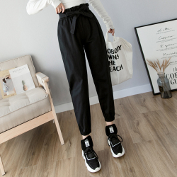 2019年新款 时尚休闲小脚工装裤 C1018-003#