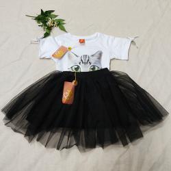 德奥卡迪 女童网纱短裙 D1222