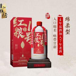 """红粮一号 绵柔型 箱装6瓶装 """"坤沙酒"""" 4年基酒7年老久"""