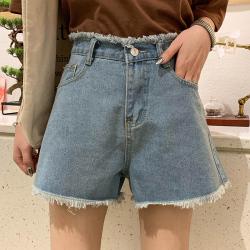 普瑞施  个性毛边时尚短裤 S12(13)