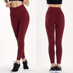高弹力运动紧身裤外穿跑步健身裤 yoga116