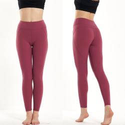 高弹力运动紧身裤外穿跑步健身裤 yoga102
