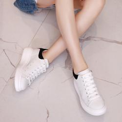 优曼特 厚底小白鞋 368-1
