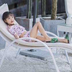衣恋网 2019韩版小童裙式分体泳衣可爱小猫女童泳衣儿童露肩温泉沙滩泳衣 132