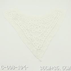 唐隆 棉衣领 C-008-10个-36CM