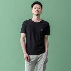 昇 简约男装圆领短袖T恤 S9X10727