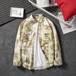 时尚潮牌迷彩衬衫