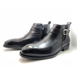 协利 2019年新款男士休闲复古皮鞋靴子 XR312