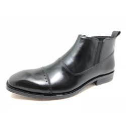 协利 2019年新款男士真皮潮流皮鞋靴子 K909-293