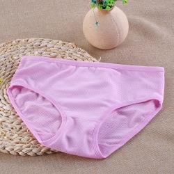 卓雅漫姿 新款糖果色夏季女士内裤舒适透气吸汗镂空女士三角内裤 5531