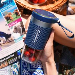 摩飞(Morphyrichards)榨汁机9600 便携式充电迷你无线果汁机料理机搅拌机