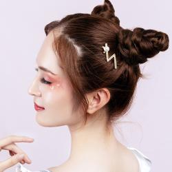 蔻即美日系ins头顶小发夹珍珠发夹边夹青蛙扣夹刘海发夹碎发发夹 BA6-4876