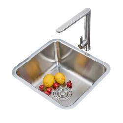 尚誉304不锈钢厨房家用小单盆水槽套餐单槽洗菜盆洗碗槽加厚 3732KY/ 4237KY/4439KY