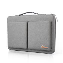simtop 手提商务电脑包多功能电脑包防水耐磨360度保护  13.3/14/15.6寸
