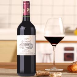 法国福柯侯爵干红葡萄酒2015Marquis De Fourcaud 750ml