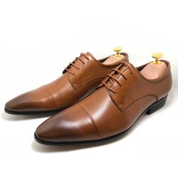 协利 2019年新款男士商务皮鞋 XRA505