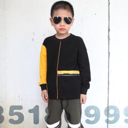 小班尼 男童奧代爾衛衣圓領T恤 T10185