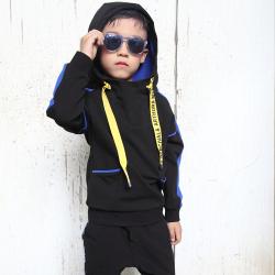 小班尼 男童奧代爾衛衣連帽T恤 T10116