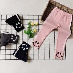 欧耶 2019新款打底裤新款童装糖果色打底裤 外穿女中童儿童打底裤