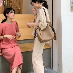 星达浪漫气质针织套装 韩版清新甜美七分袖爆款66148008970075