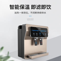 特锶源 一体加热饮水机智能温热净饮机TSY-806保温即滤即饮厨房客厅