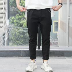 独有主见 2020新款男装潮流潮男时尚工装休闲舒适直筒长裤 645232