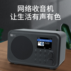 Ocean Digital海弦WR336N全新多媒体半导体互联网老人wifi无线蓝牙网络收音机