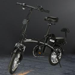 泰麒TAIQI 电动自行车Didi 三段式5S折叠 制动采用前+后碟刹装置 人体工程学鞍座