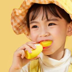 儿童U型超声波电动牙刷防水懒人洁牙仪卡通宝宝清洁牙齿网红同款