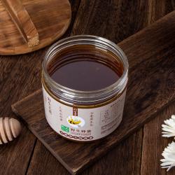 美农臻品 土蜂蜜纯正天然野生农家自产百花峰蜜老字号无添加蜂巢蜜 500克