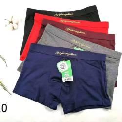 男士内裤男平角裤透气裤衩舒适个性潮流裤头