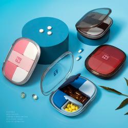 signhouse小藥盒便攜一周分裝藥盒隨身收納分藥盒迷你藥品丸盒子密封薬盒PB02