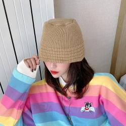 秋冬新款保暖漁夫針織毛線帽子  2506#  WYR
