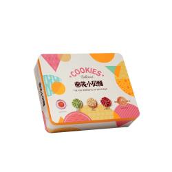 多頓 曲花小貝酥700克3種混合口味雙層純手工零食低卡禮盒裝