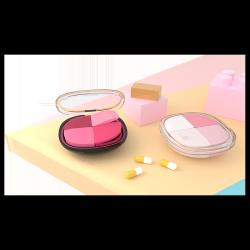 signhouse小药盒便携一周分装药盒随身收纳分药盒迷你药品丸盒子密封薬盒 PB01