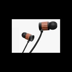 REECHO余音 斯为M006 木质有线耳机入耳式游戏耳机耳麦动圈重低音