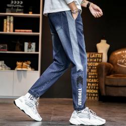 2020春夏新款时尚大方潮流潮男气质个性休闲男装牛仔裤 K9121