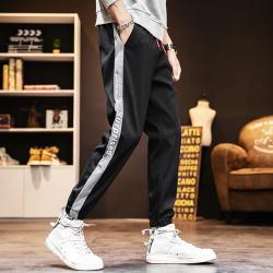 2020春夏新款时尚大方潮流潮男气质个性男装休闲裤 K9122