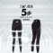 雅雅芭莎.立翘塑-5D 聚暖黑科技收腹提拉紧实燃脂美型提臀