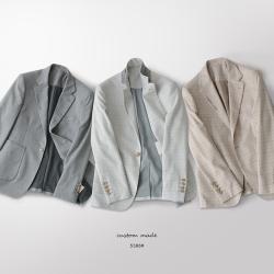 UNDERCROXX 2020新款時尚氣質男士格子西裝外套 5366