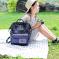 双肩背包女2020新款韩版高中大学生百搭大容量帆布书包离家出走包