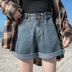 125 高腰显瘦A字型百搭女装短裤